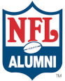nfl alumni log vector